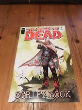 The Walking Dead Script Book First Print VF Condition 2005 Kirkman & Adlard RARE