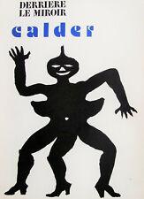 ALEXANDER CALDER - DERRIERE LE MIROIR # 212 (COVER ONLY) - FREE SHIP US  !!!