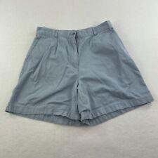 LL Bean Shorts Womens 12 Blue Outdoors Hiking Casual  Ladies