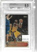 1996 - 1997 Topps Kobe Bryant rookie card BGS 8.5 - Lakers (C)