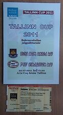 Tournament Tallinn-2011. West Ham Unaited - PSV U-19 + tickets