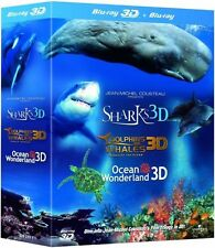 Jean-Michel Cousteau Film-Trilogie 3D [Blu-ray 3D + Blu-ray] *NEU* DEUTSCH