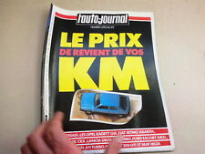 """REVUE  """" L' AUTO JOURNAL """" N° 20  ANNEE  1984  *"""