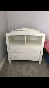 Mothercare Taunton Baby Changing Unit Table Furniture