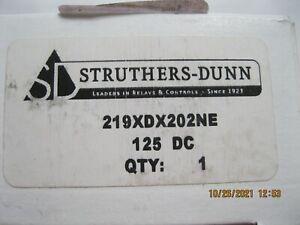 Struthers Dunn Relay 219XDX202NE 125V Dc