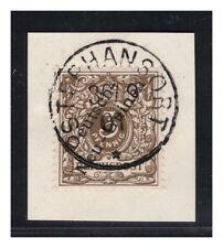 DNG Minr. 1 a  Letzttagsstempel Stephansort 30.9.01 Luxus Briefstück