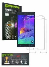 KRYPTONITE Samsung Galaxy Note 4 Tempered Glass Screen Protector (2 Pack)