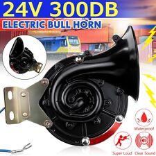 Universal 300dB Electric Bull Air Horn Super-loud Raging Sound Car Truck 24V AU