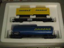 Marklin HO 4742 DB DANZAS Tank Car & Container Set - LNIB - Era V