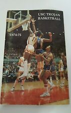 1974-75 USC TROJANS BASKETBALL MEDIA GUIDE YEARBOOK PRESS GUIDE - GUS WILLIAMS