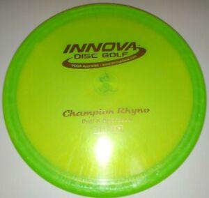 New Innova Champion Rhyno Pearly Stiff 175g Disc Golf 052021-RY3