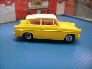 Dinky Toys Ford Anglia Restored and re painted