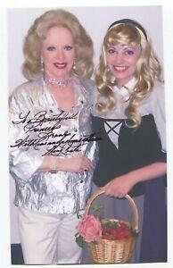 Mary Costa Signed Photo Autographed Walt Disney Sleeping Beauty Voice