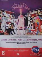 PUBLICITÉ RFM LE SOLDAT ROSE AU PALAIS DES CONGRÉS DE PARIS COMÉDIE MUSICALE
