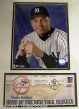 BASEBALL - NY YANKEES DEREK JETER MATTED PHOTO STAMP & ENVELOPE 2002 - SEALED