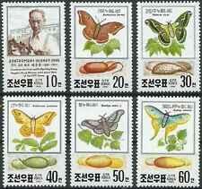 Timbres Papillons Corée 2194/9 ** lot 22068