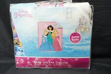 "Disney Princess Sherpa Throw Blanket 50""x60"""