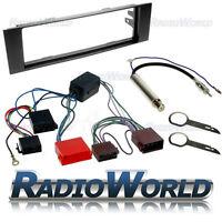 Audi A3 Car Stereo Radio Fitting Kit Fascia ISO Wiring Aerial Adaptor Plate Trim
