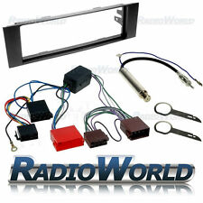 Audi A3 Car Stereo Radio Fitting Kit Fascia ISO Wiring Aerial Adaptor Plate Trim