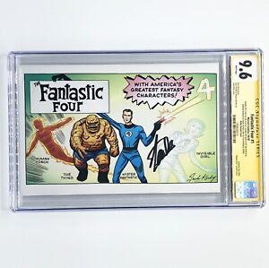 Fantastic Four 1 CGC 9.6 SS 4X Stan Lee, Dan Slott +2 Kirby Hidden Gem Variant