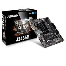 SCHEDA MADRE ASROCK J3455M MICRO ATX Intel CPU INTEGRATO