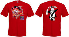 Faster Pussycat T-shirt double side front and back red all sizes S...5XL