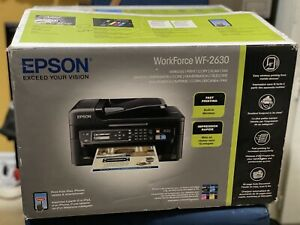 Epson WorkForce WF-2630 Wireless All-in-One Color Printer/Copy/Scan/Fax