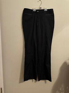 "Ladies CALLAWAY Golf Flat Front Pants Size 10 Waist 34"" *New*"