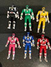 Mighty Morphin Power Rangers 1993 Bandai Flip Heads-Lot of 6