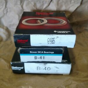 BCA B40/B41 Brngs & National 6985 Seal 55-57 Chevy