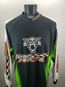 Team Arctic Cat Racing Mens 2XL Long Sleeve Jersey Shirt Cat Arcticwear