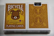 1 deck BICYCLE Rilakkuma Be@rbrick Playing Cards