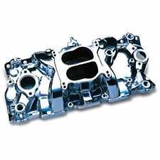 Professional Products 52000 Engine Intake Manifold Polished Cyclone 57-95 SBC Du