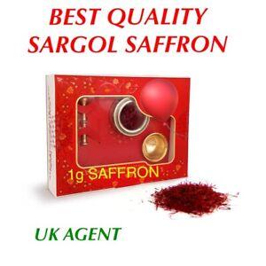 SAFFRON SPICE 1g %100 PURE METAL BOX + PESTEL & MORTAR BEST QUALITY 🎁 GIFT IDEA