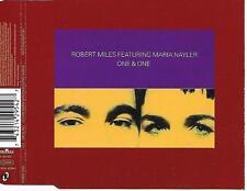 ROBERT MILES ft MARIA NAYLER - One & One CDM 5TR Italo Euro House 1996