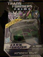 Transformers Prime Dark Energon Knock Out Mint Sealed Rare