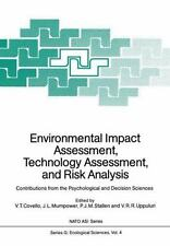 Nato asi Subes G: Environmental Impact Assessment, Technology Assessment, and...