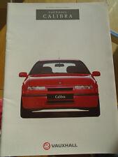 OPEL calibra gama FOLLETO 1994 Ed 2