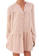 H&M Hip Length Long Sleeve Tops & Shirts for Women