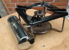Sehr Rar, sehr schöner alter SVEA Petroleumkocher, Chromtank, Emaillekochfeld