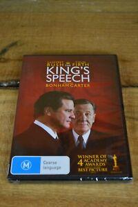 The King's Speech (DVD, 2011) - PAL 4 - Geoffrey Rush, Colin Firth - Brand New