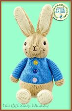 NEW MADE WITH LOVE PETER RABBIT SOFT TOY OFFICIAL BEATRIX POTTER FROM BIRTH