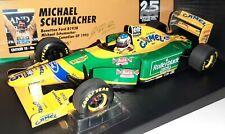 Minichamps F1 Benetton Ford B193B Michael Schumacher 1/18 Canadian GP 1993 Camel