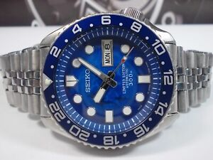 SEIKO DIVERS SKX007 AUTOMATIC MENS WATCH 7S26-0020 'SHARK LIMITED' (SN 780967)