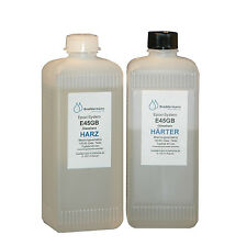 Epoxid Gießharz Epoxyharz transparent gießen E45GB niedrigviskos EP 800g