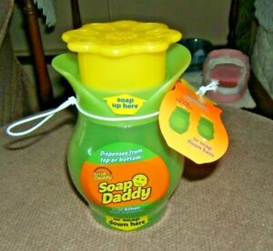 Scrub Daddy Soap Daddy Dispenser NWT   last time up for auction