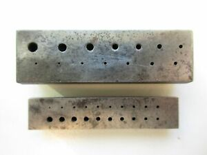 Two vintage riveting stakes - for watchmaker