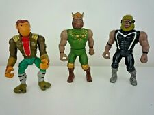MANNIX 3 APE ATTACK SPACE MONKEYS PLANET OF THE APES BOOTLEGS MOTU FIGURES