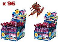 Bulk Lollies 96 x Chupa Chups Melody Pops 2 Boxes Strawberry Whistle Sweet Fresh