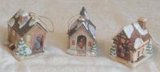 "Mi Hummel ""Bavarian Village"" 3 Ornaments 1999"